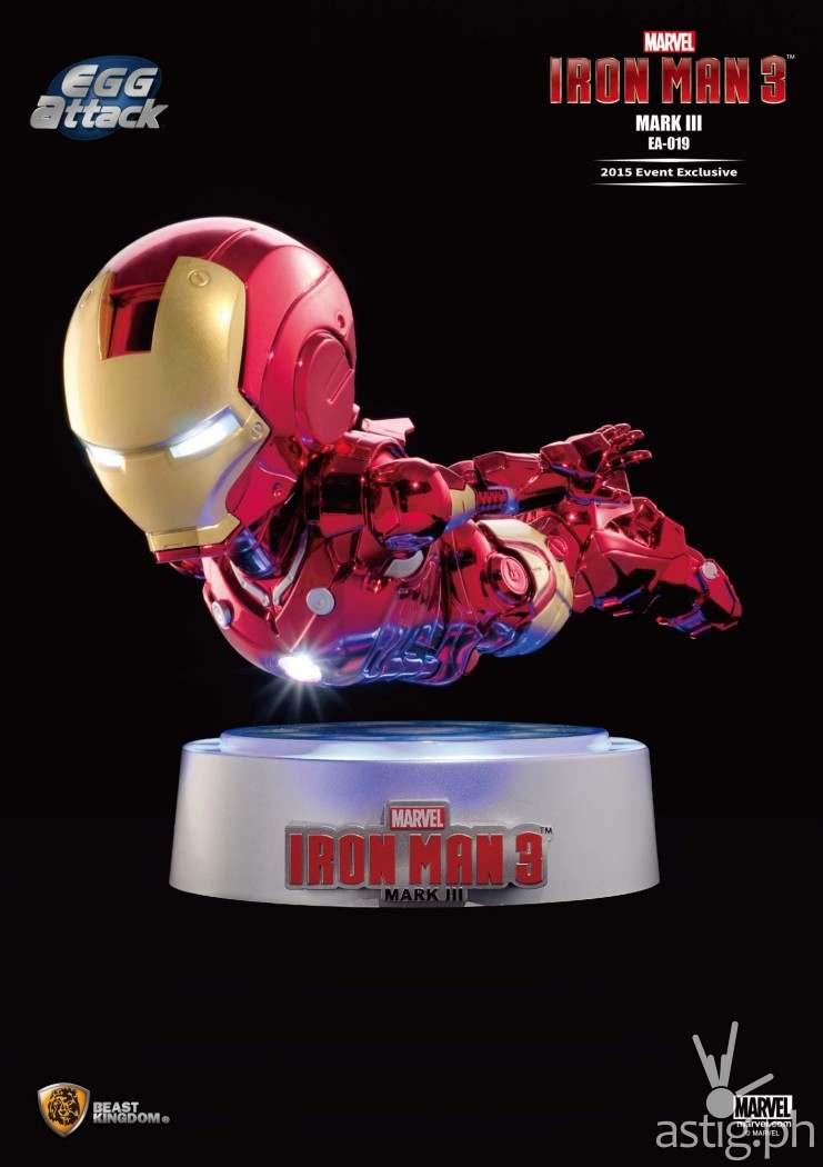 Beast Kingdom Egg Attack Iron Man 3 Mark III