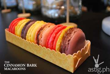 City Garden Grand's French Macaron at the Cinnamon Bark