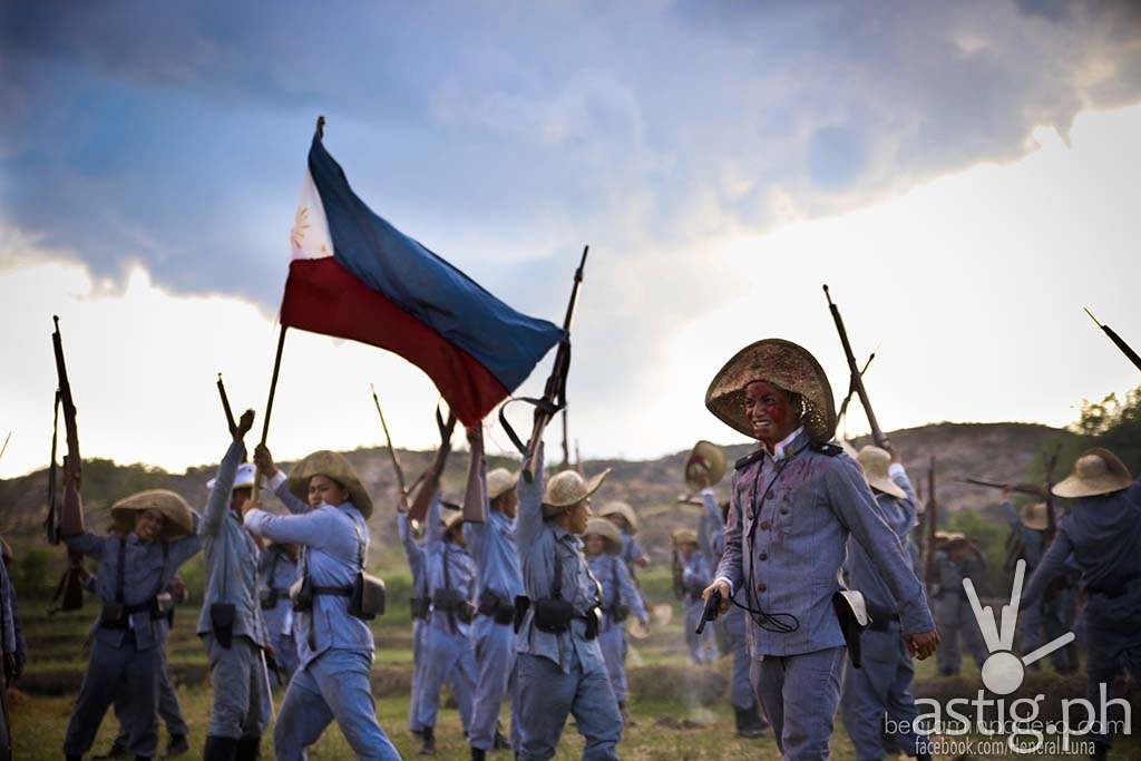 Heneral Luna had a scene with 500 extras shot in 1-2 days