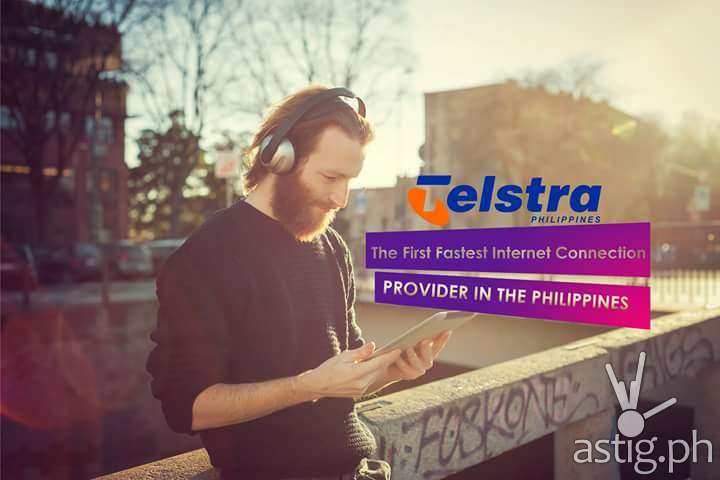 Fake Telstra Philippines advertisement on Facebook