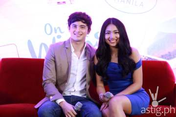 James Reid and Nadine Lustre at the OTWOL Media Day