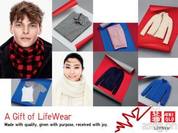 Make Christmas merrier with UNIQLO's #MyUQGiftToYou_Photo