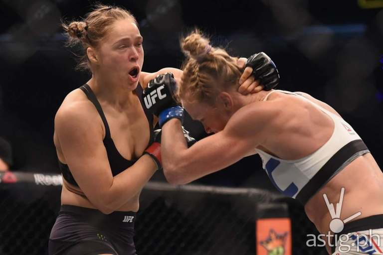 Rousey vs Holm UFC 193 (via lowkickmma.com(
