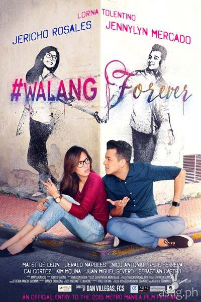 Walang Forever wins the Best Picture of the 41st Metro Manila Film Festival
