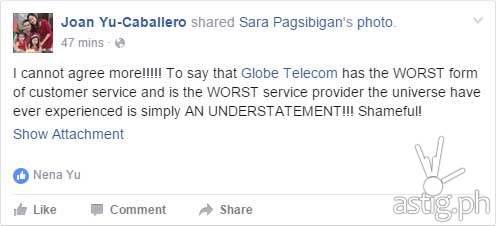 Globe Telecom horror story (1)