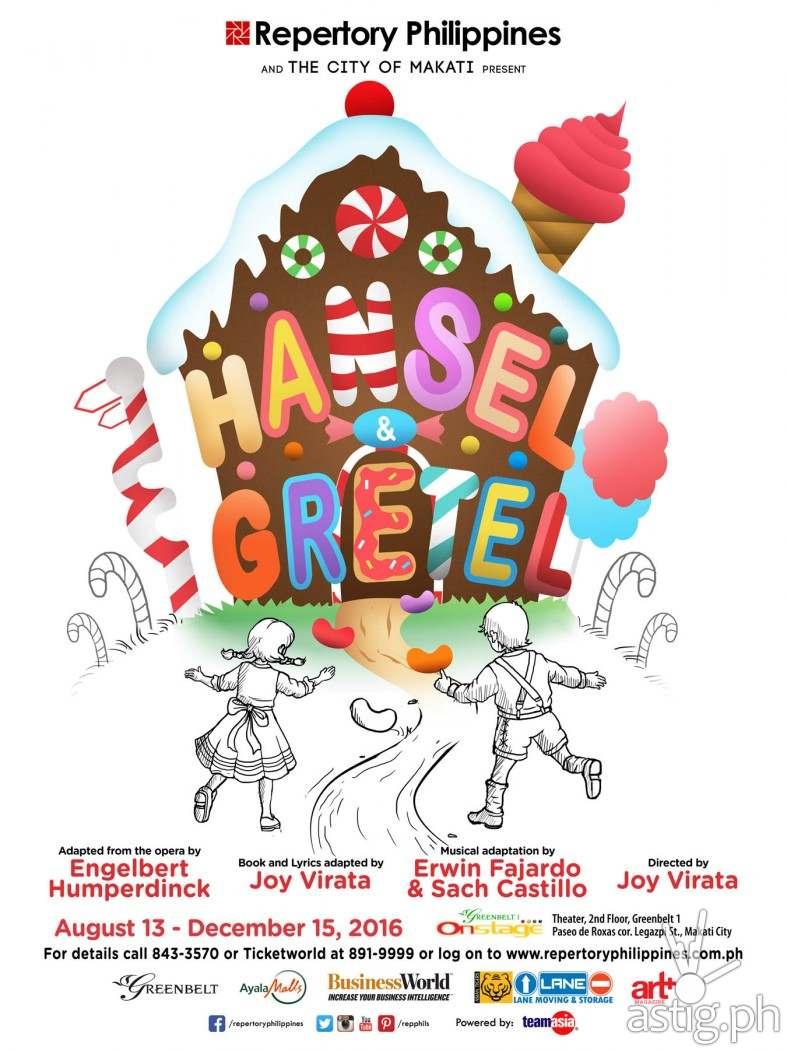 Hansel & Gretel by Repertory Philippines