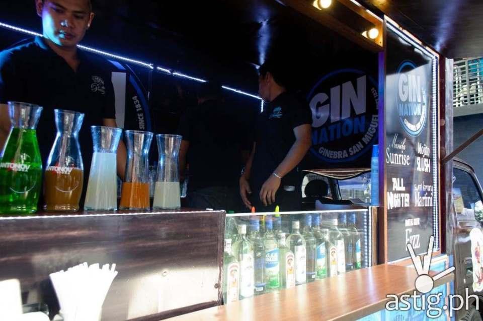 Gin Nation Caravan at Gindependence Day Ginebra San Miguel