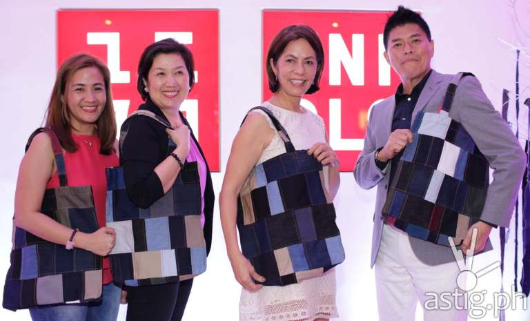 UNIQLO Excess Denim Fabric Helps Empower Women in the Philippines