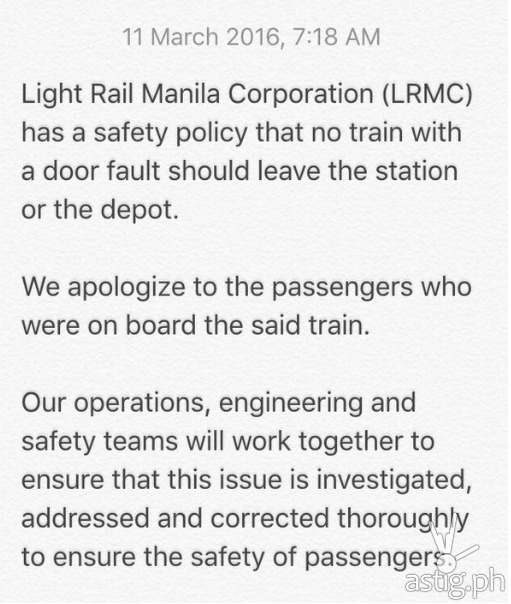 DOTC statement