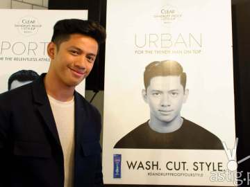 David Guison for Bruno's Barbers and CLEAR