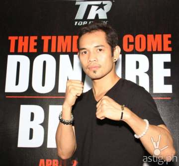 Five-division champ and reigning WBO Superbantamweight Division titlist Nonito Donaire