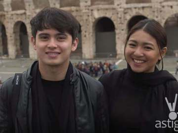 James Reid and Nadine Lustre