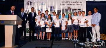 British School Manila Senior Sports Celebration Evening 2016