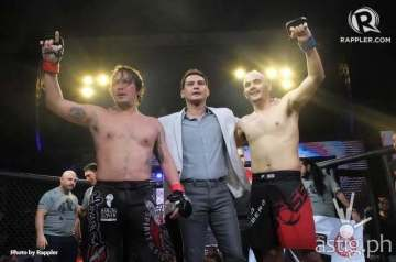 Baron Geisler vs Kiko Matos fight results photo by Rappler