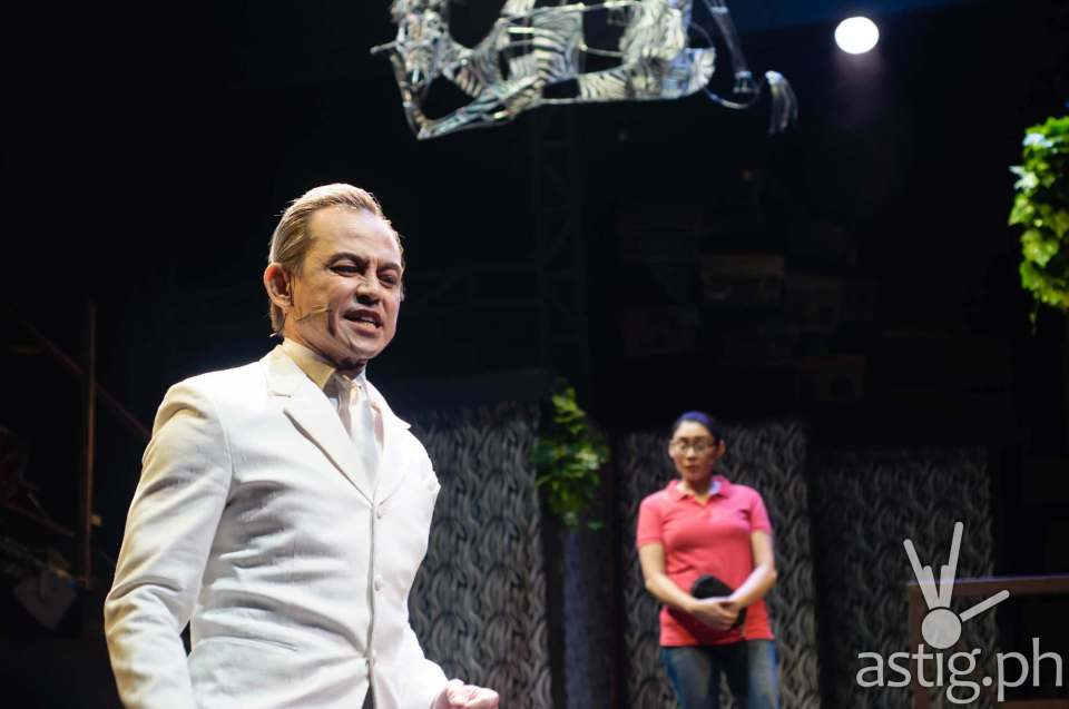 Jon Santos (Fernan) with Carla Guevara-Laforteza (Mary Jane) in Rak of Aegis