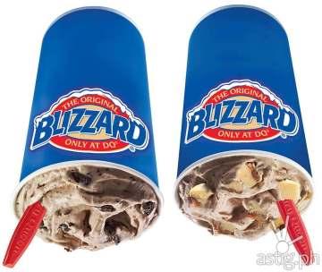 Nutella Blizzard Dairy Queen