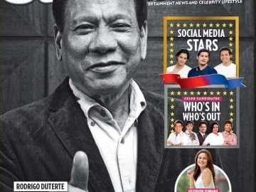 President Duterte StarStudio Cover
