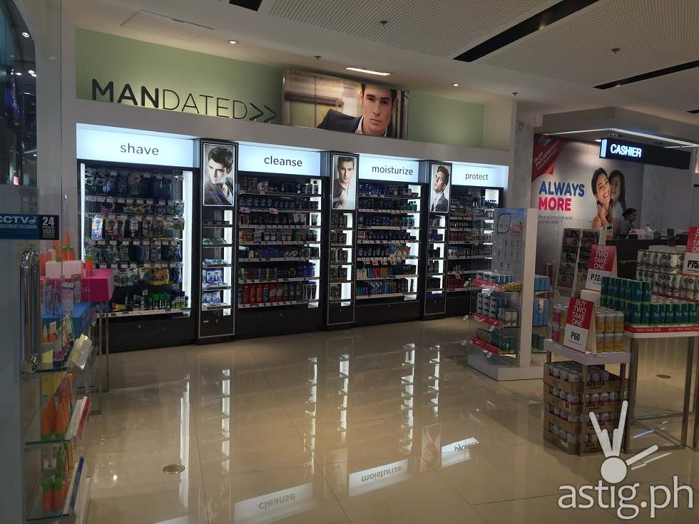 Time to be MANdated. Men, Step up your style at Watsons