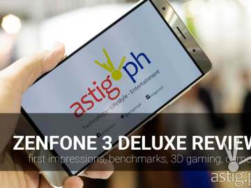 asus zenfone 3 deluxe review