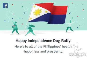 facebook philippine flag independence day