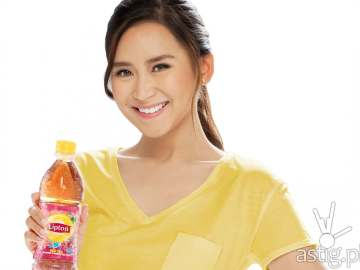 Sarah Geronimo lipton ice tea