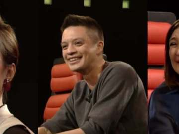 The Voice Kids coaches Lea Salonga, Bamboo, Sharon Cuneta