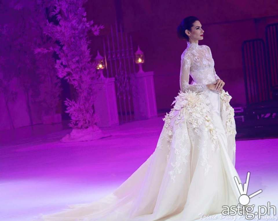 Wedding gown by Cary Santiago at Marriott Hotel Manila - Marry Me At Marriott