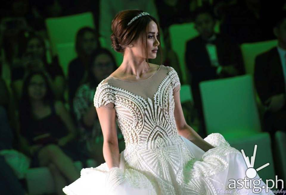 Wedding gown by Francis Libiran at Marriott Hotel Manila - Marry Me At Marriott