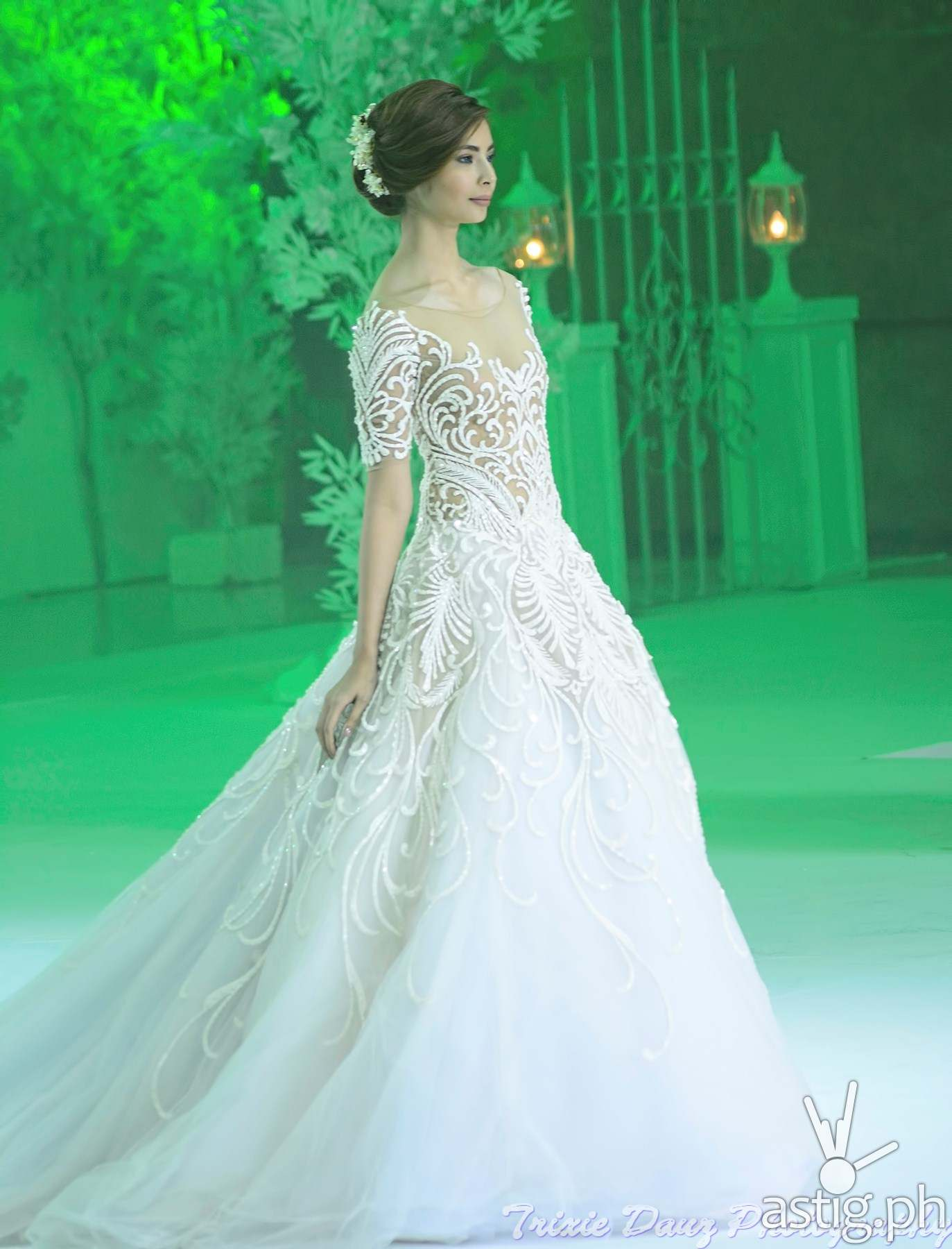 4 best modern wedding gown designs by Pinoys showcased at Marriott ...