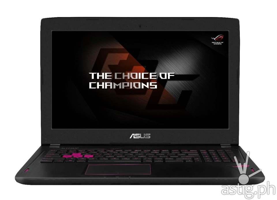 ASUS ROG Strix GL502 gaming laptop