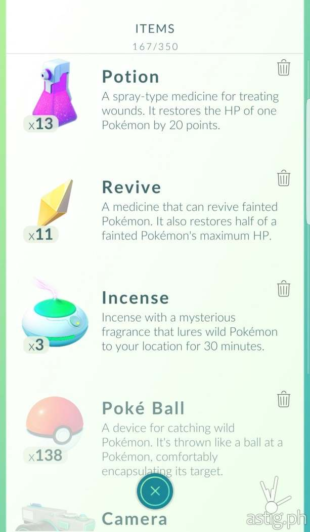 Pokeballs are not unlimited in Pokemon GO