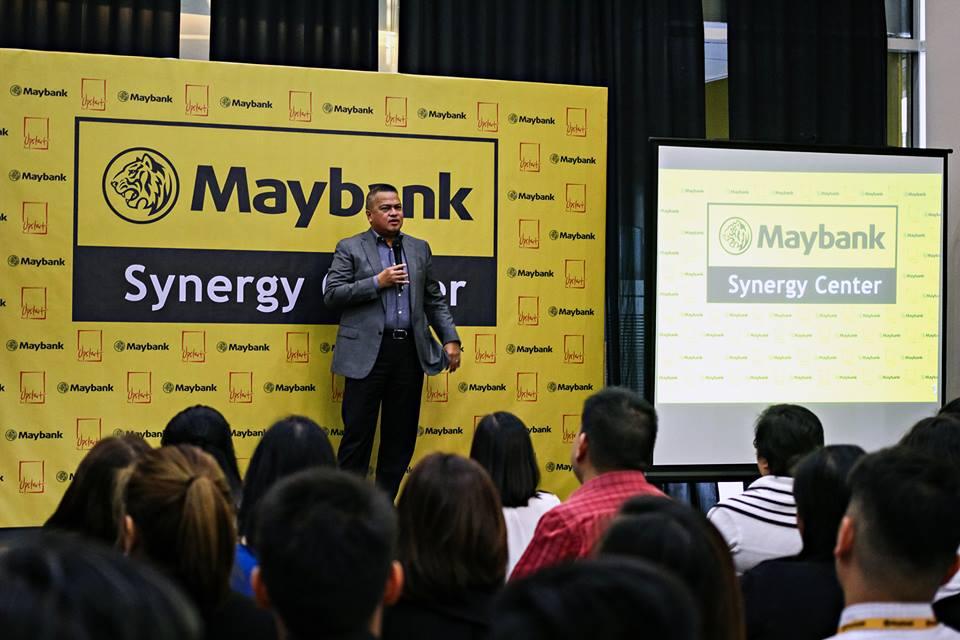 Herminio Famatigan Jr., Maybank President and CEO