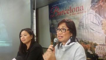 Carmi Raymundo and Direk Olivia Lamasan