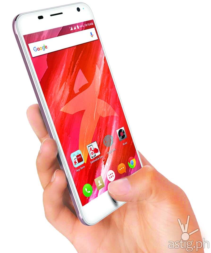 Starmobile UP Sense: fingerprint-protected sub-5K smartphone | ASTIG.PH