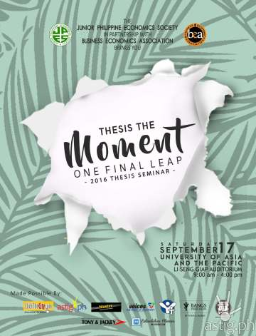 thesis the moment poster