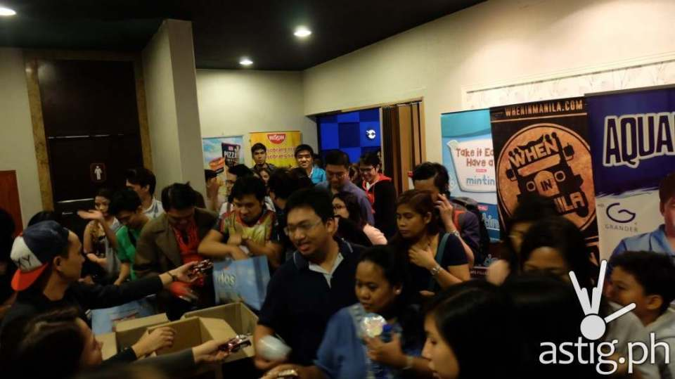 Doctor Strange block screening at Resorts World Manila