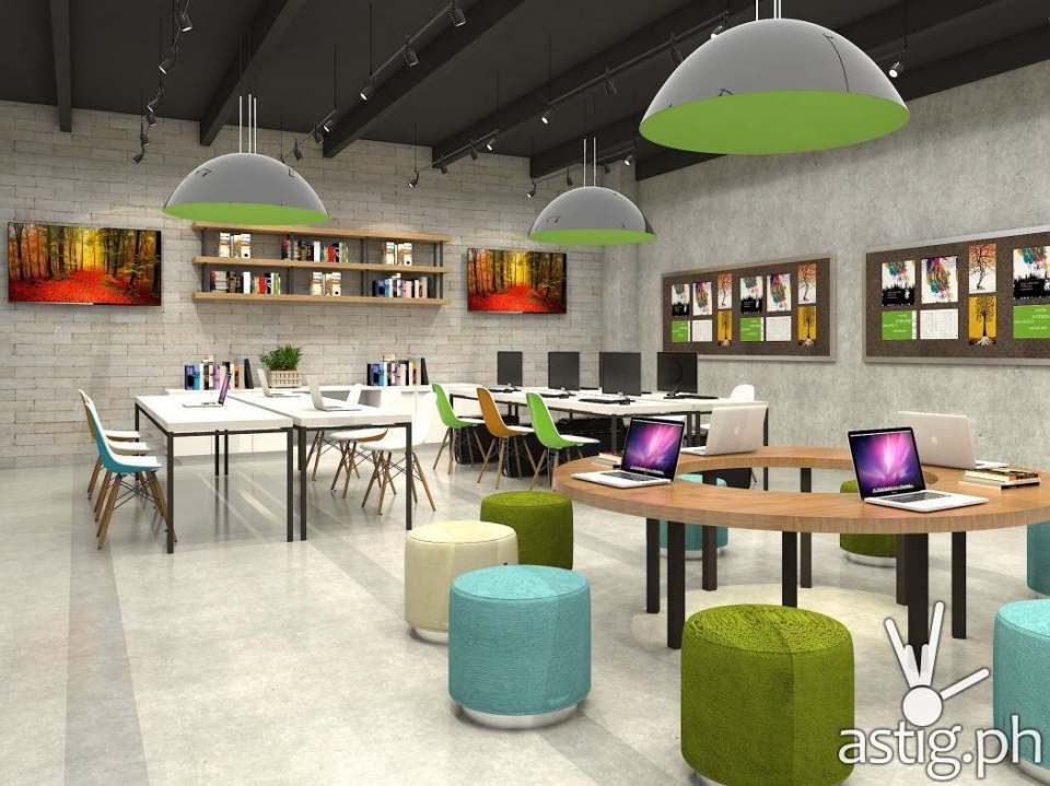 Library at Square One BGC