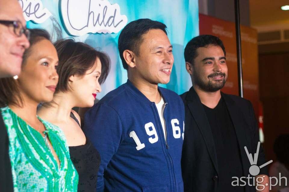 Mario Cornejo, Ana Abad Santos, Annicka Dolonius, Senator Sonny Angara and Sid Lucero