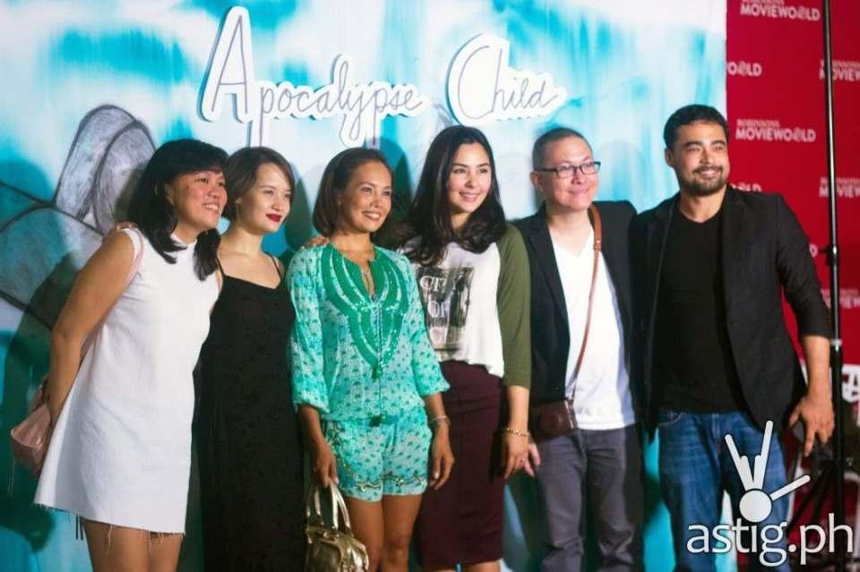 Producer Monster Jimenez, Annicka Dolonius, Ana Abad Santos, Gwen Zamora, director Mario Cornejo and Sid Lucero