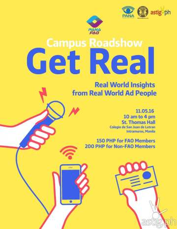 PANA FAO Campus Roadshow Get Real