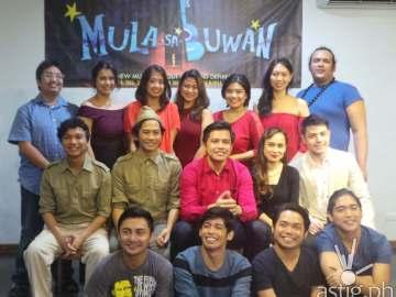Mula sa Buwan Cast