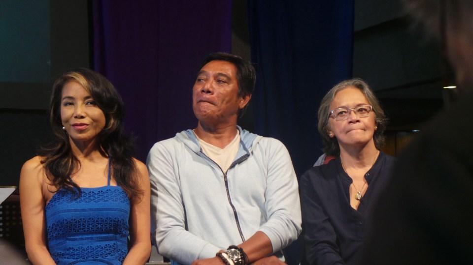 Dancers: Ednah Ledesma, Butch Esperanza and Edna Vida