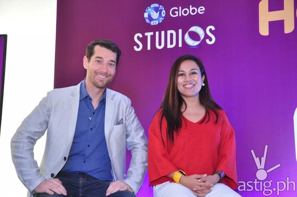 Globe's Dan Horan and Jil Bausa Go