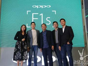 Oppo F1s Alden Richards