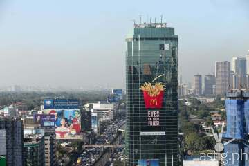 McDonald's World Famous Fries 3D billboard in Mandaluyong EDSA