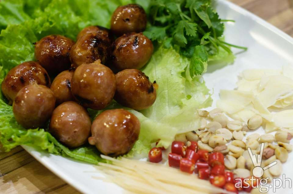 BKK Express - Grilled Thai Isan Sausages (P350)