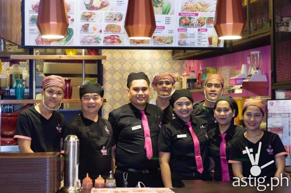 BKK Express BGC is located at the food court of Uptown BGC