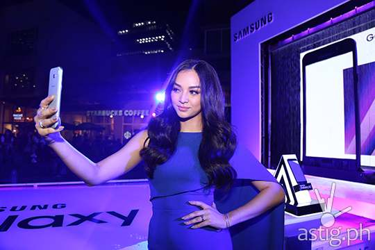 Miss International 2016 Kylie Verzoda is Samsung Galaxy A (2017) brand ambassador
