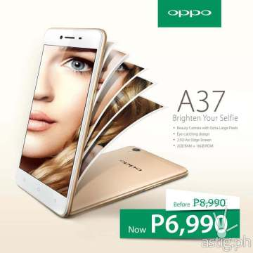 OPPO A37 Philippines price drop