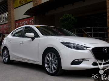 Strong yet refined aesthetics - the Mazda3 sedan sure is a looker!